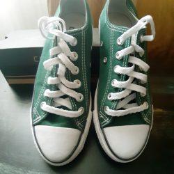 f6d2019b9d Converse tmavo zelené tenisky č.38..ponúkam za 39€…nech sa páči pozrite si  všetky moje ponuky )